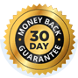 30 day mony back guarantee icon